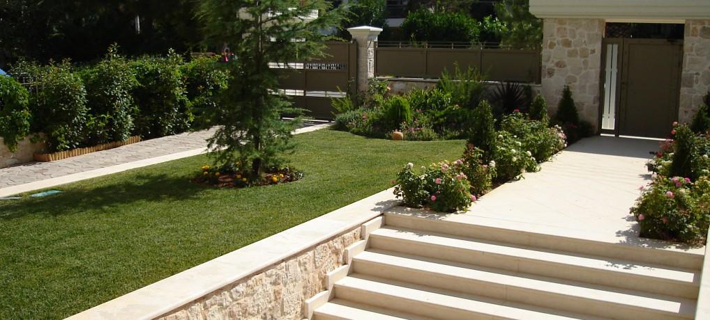 Σχεδίαση, κατασκευή και συντήρηση κήπου στο Πανόραμα Βούλας